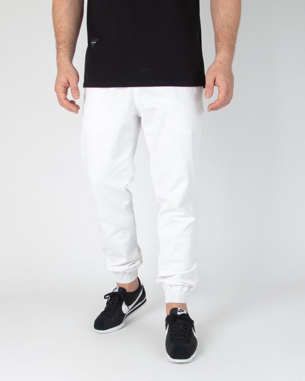 Spodnie New Bad Line Chino Jogger Icon White