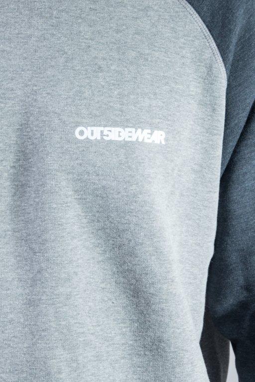 OUTSIDEWEAR CREWECK SIMP GREY