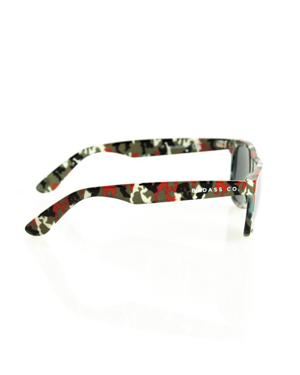 Okulary New Bad Line Classic Camo Flash 182