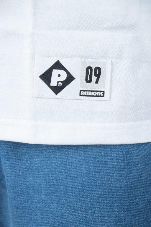 PATRIOTIC T-SHIRT 10NECK WHITE