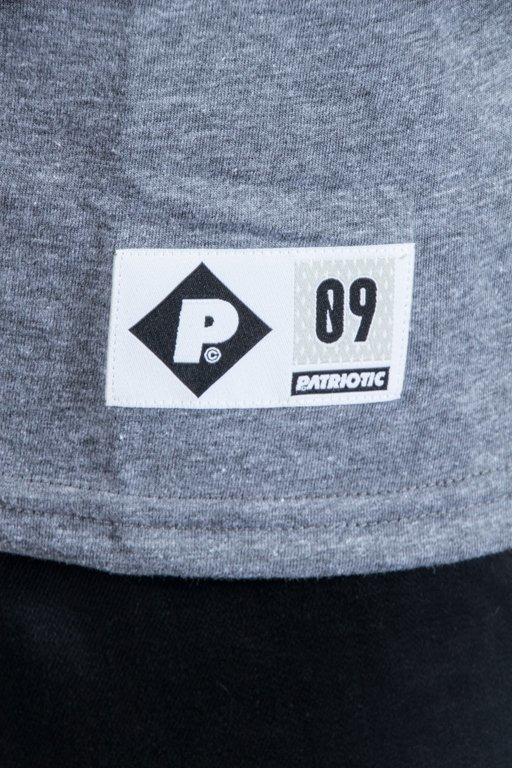 PATRIOTIC T-SHIRT CS TRIO BLACK-MELANGE-GRAFIT