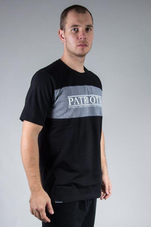 PATRIOTIC T-SHIRT GREEK BLACK-GRAFIT