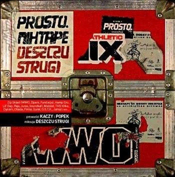 PŁYTA CD MIXTAPE PROSTO DESZCZU STRUGI