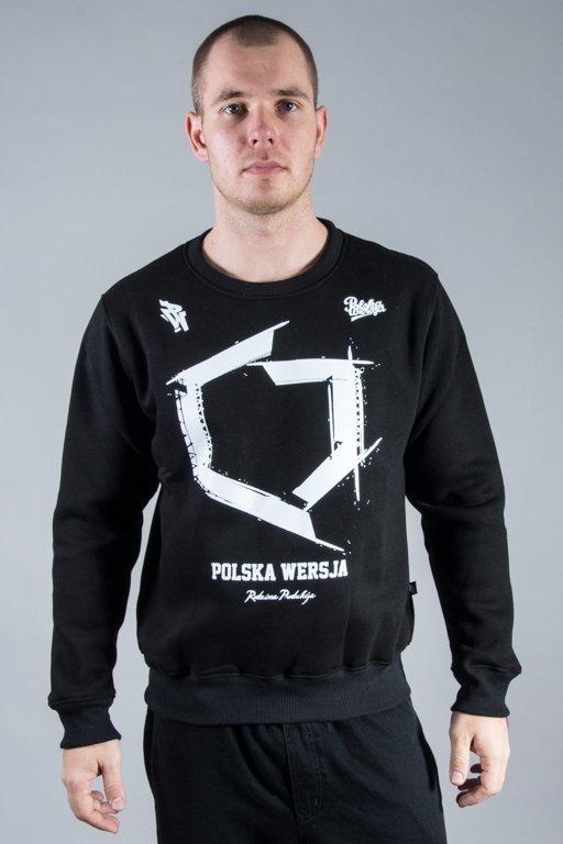 POLSKA WERSJA CREWNECK KONTUR BLACK