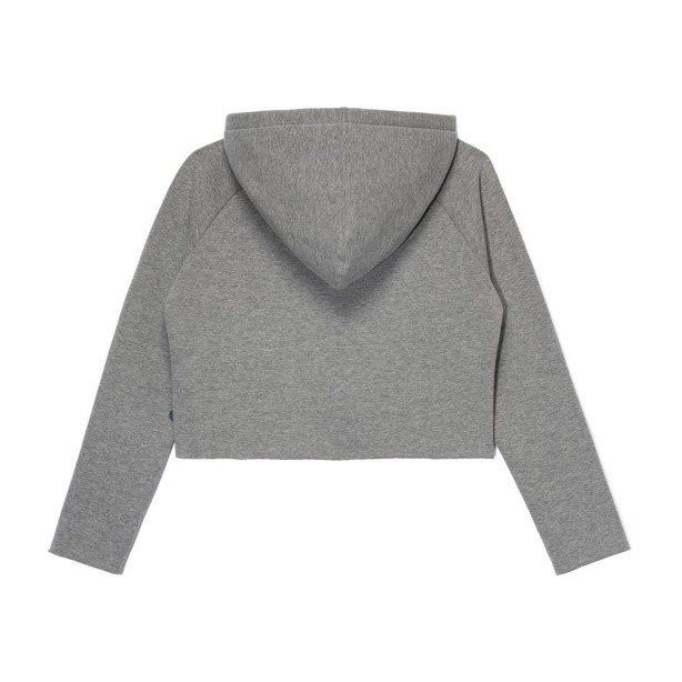 PROSTO HOODIE WOMAN LACERATE GREY