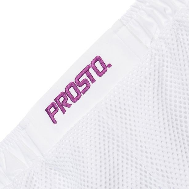 PROSTO SHORTS WOMAN GAME NET WHITE
