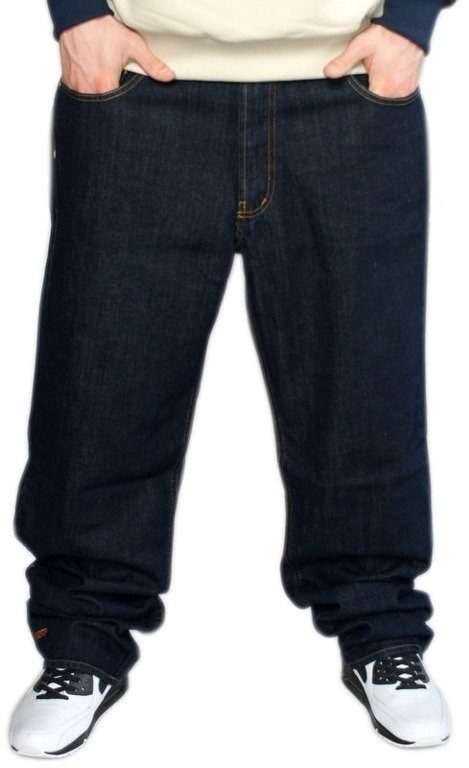PROSTO SPODNIE JEANS BETWEEN DARK BLUE