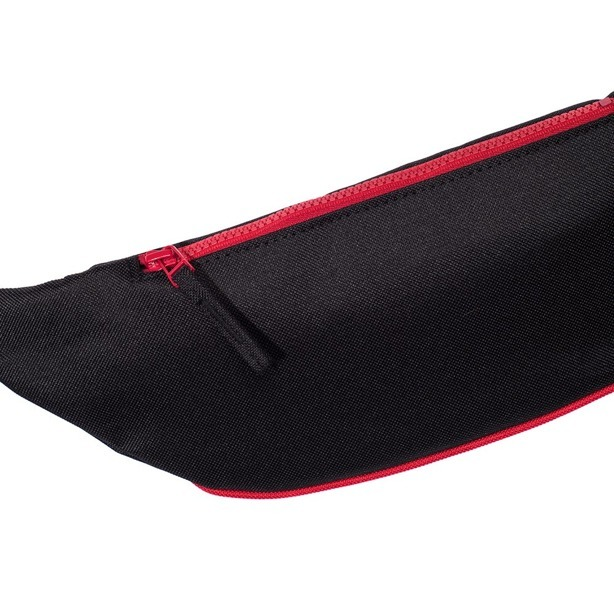 PROSTO STREETBAG COLORIZED BLACK-RED