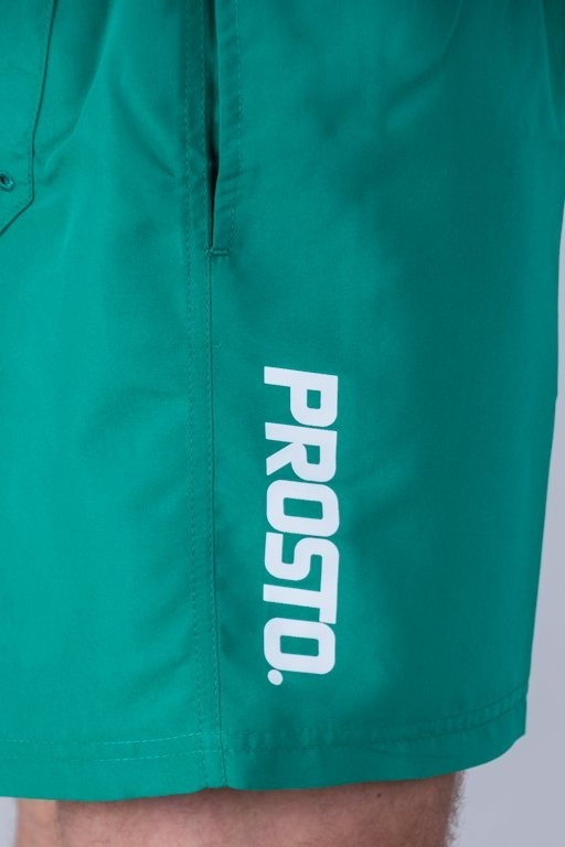 PROSTO SWIMSHORTS TROPICAL GREEN