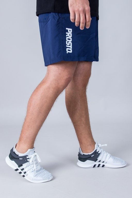 PROSTO SWIMSHORTS TROPICAL NAVY