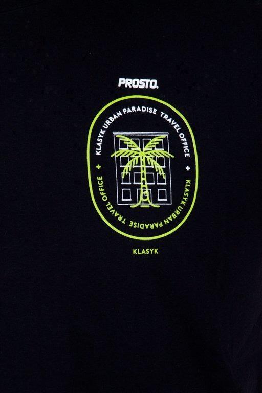 PROSTO T-SHIRT TRAVEL BLACK