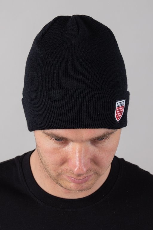 PROSTO WINTER CAP JAQBAS BLACK
