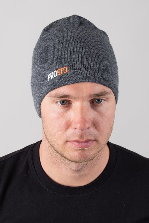 PROSTO WINTER CAP TWOLOG GREY