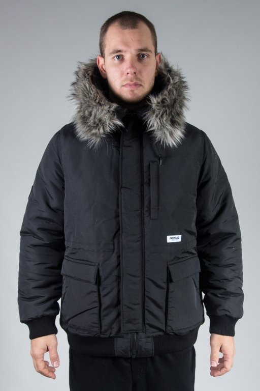 PROSTO WINTER JACKET FREEZE BLACK