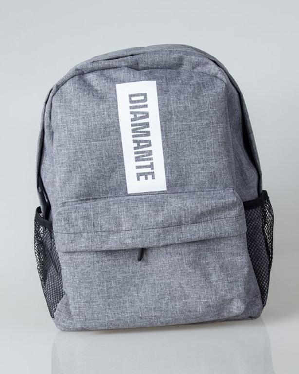 Plecak Diamante Wear Boxlogo Grey Jeans