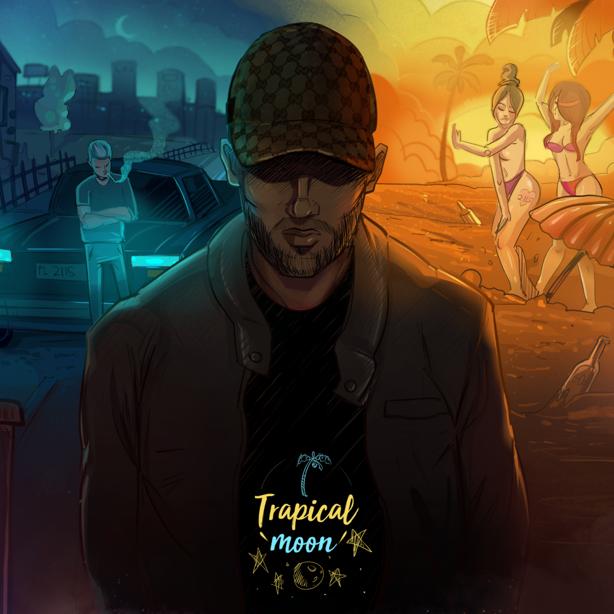 Płyta Cd Blacha - Trapical Moon