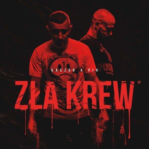 Płyta Cd Kaczor x Pih - Zła Krew