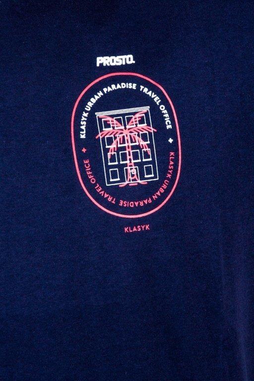 Prosto Koszulka T-shirt Travel Navy