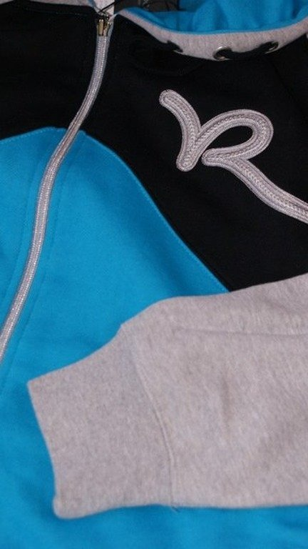 ROCAWEAR BLUZA ZIP CANYON PROCESS BLUE