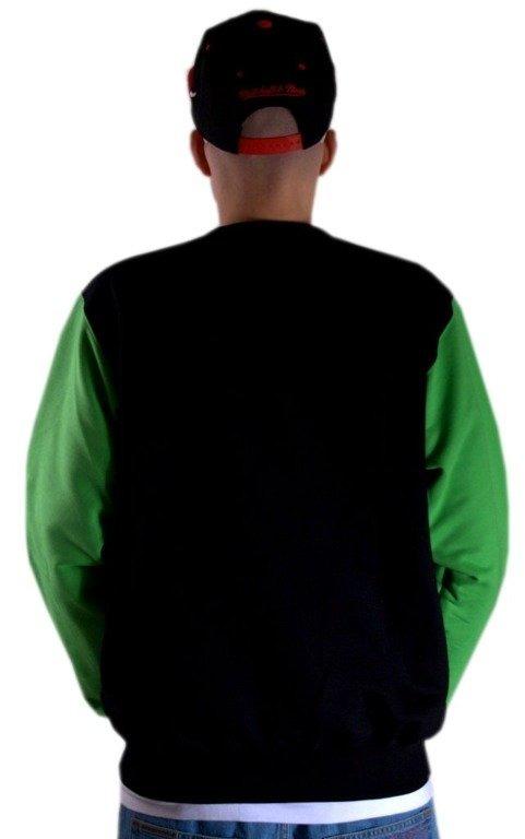 SSG BLUZA BEZ KAPTURA CROWN BLACK-GREEN