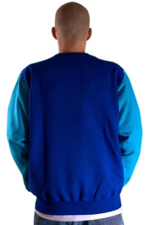 SSG BLUZA BEZ KAPTURA CROWN BLUE