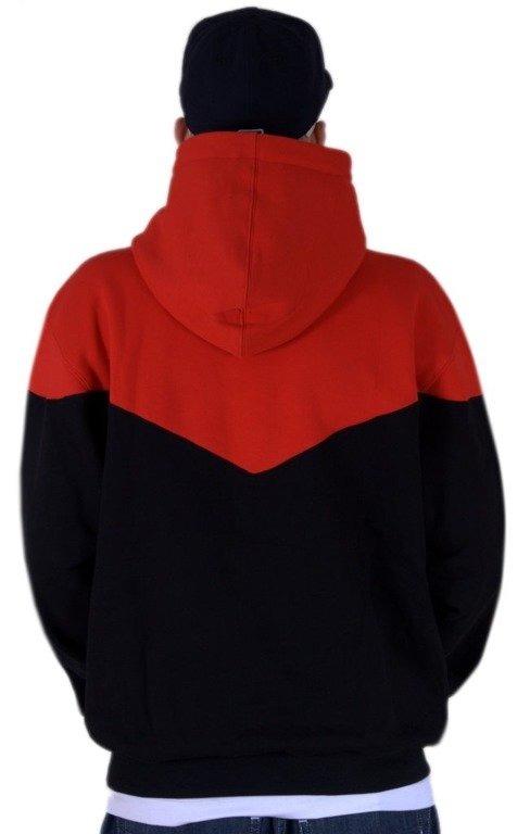 SSG BLUZA Z KAPTUREM DOUBLE RED-BLACK