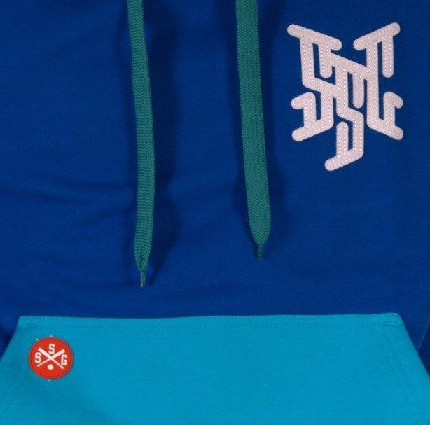 SSG BLUZA Z KAPTUREM PREMIER BLUE