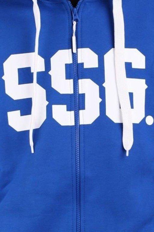 SSG BLUZA ZIP HORIZONTAL BLUE