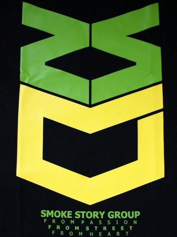 SSG KOSZULKA ARMY BLACK-GREEN-YELLOW