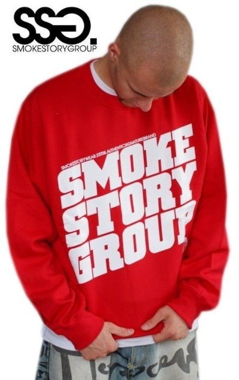 SSG SMOKE STORY BLUZA SM GROUP RED