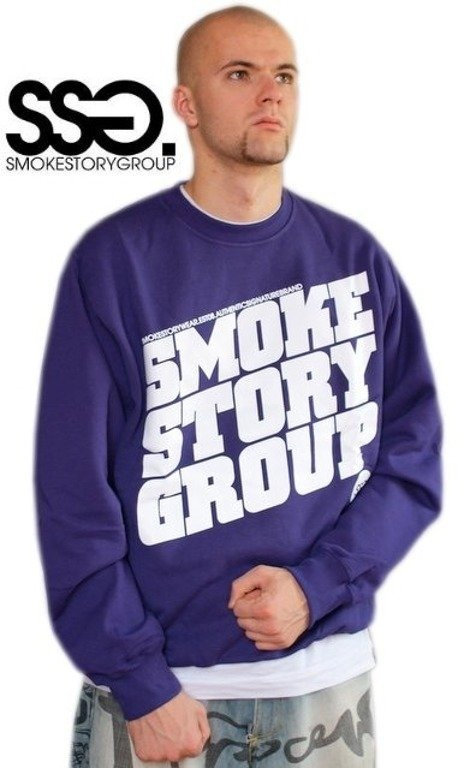 SSG SMOKE STORY BLUZA SM GROUP VIOLET