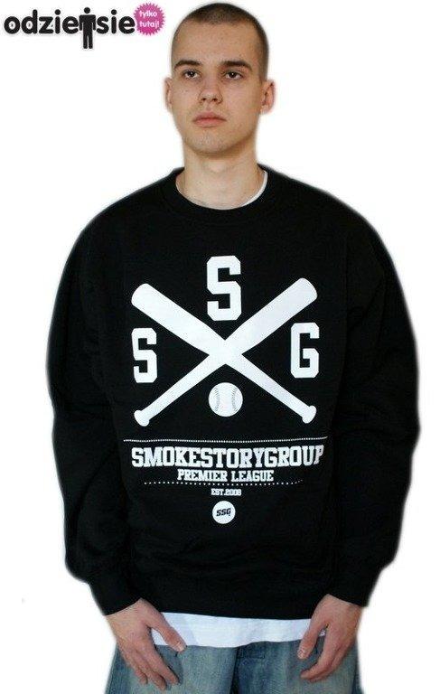 SSG SMOKE STORY GROUP BLUZA BASEBALL BLACK