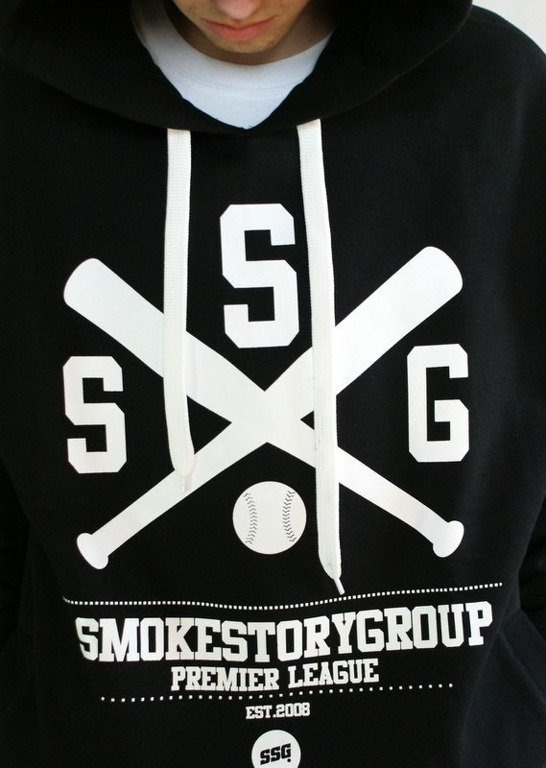 SSG SMOKE STORY GROUP BLUZA BASEBALL BLACK