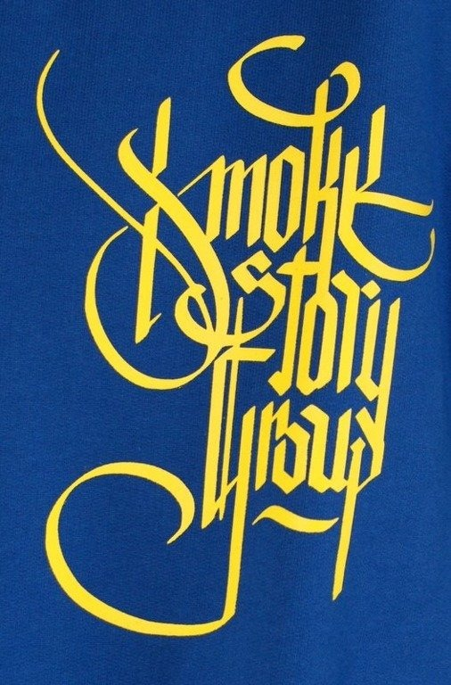 SSG SMOKE STORY GROUP BLUZA GOTHIC BLUE