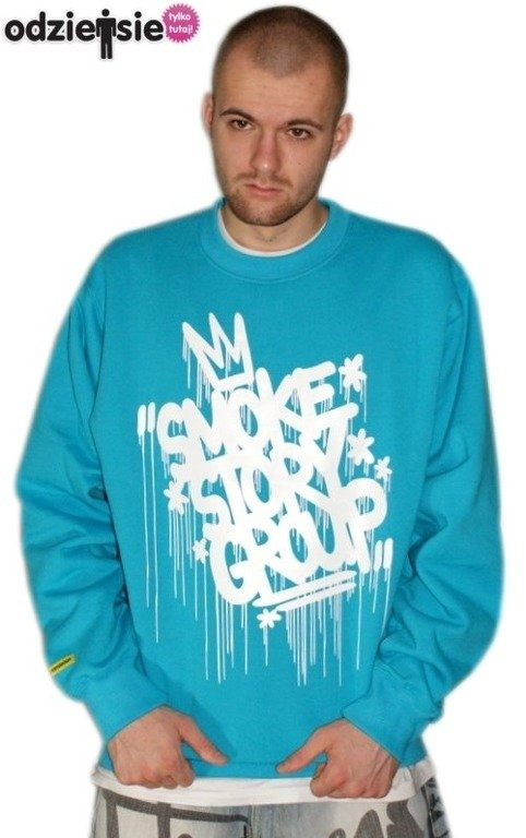 SSG SMOKE STORY GROUP BLUZA KORONA BLUE-WHITE