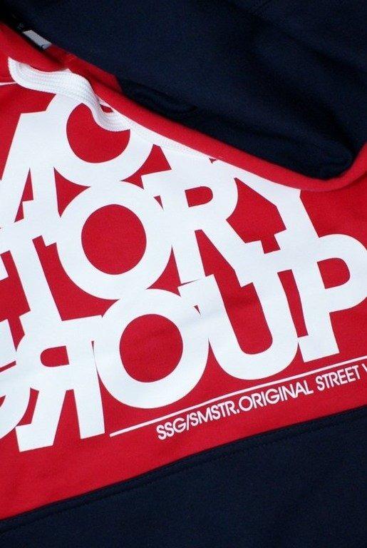 SSG SMOKE STORY GROUP BLUZA SMG LINE RED