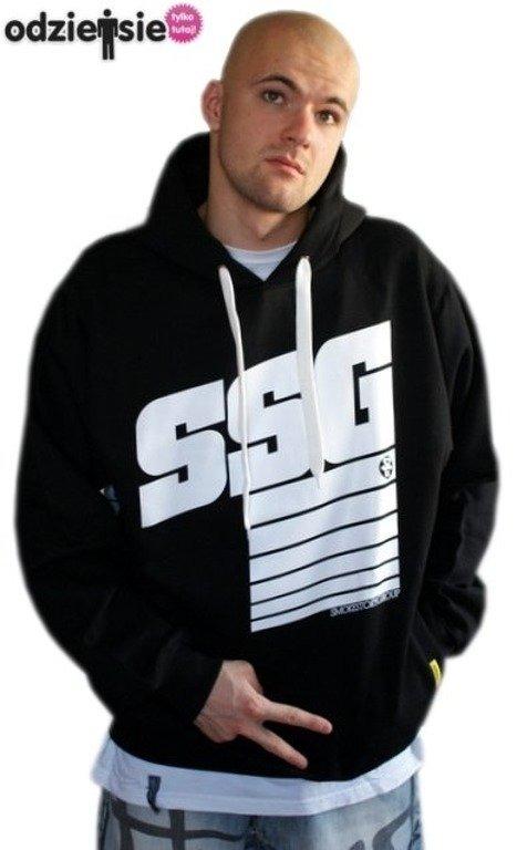 SSG SMOKE STORY GROUP BLUZA STRIPS BLACK
