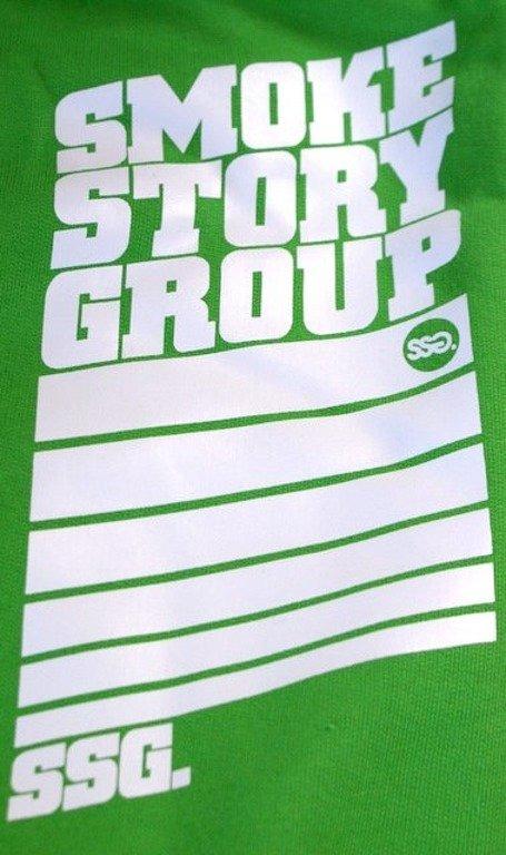 SSG SMOKE STORY GROUP BLUZA STRIPS GREEN