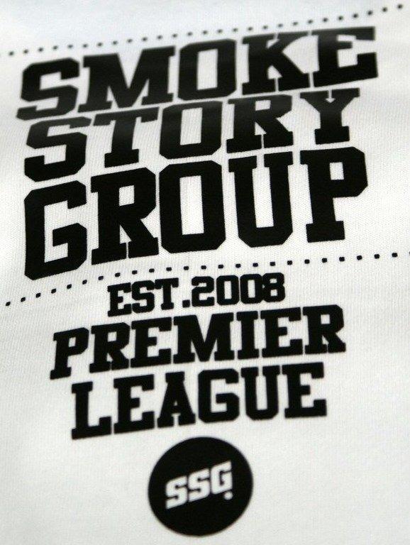 SSG SMOKE STORY GROUP KOSZULKA BASEBALL WHITE