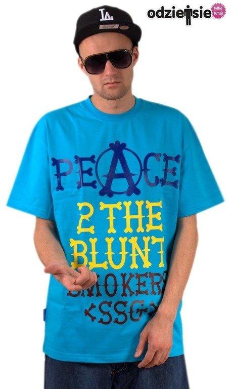 SSG SMOKE STORY GROUP KOSZULKA PEACE BLUE