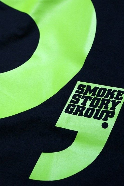SSG SMOKE STORY GROUP KOSZULKA S BLACK-GREEN
