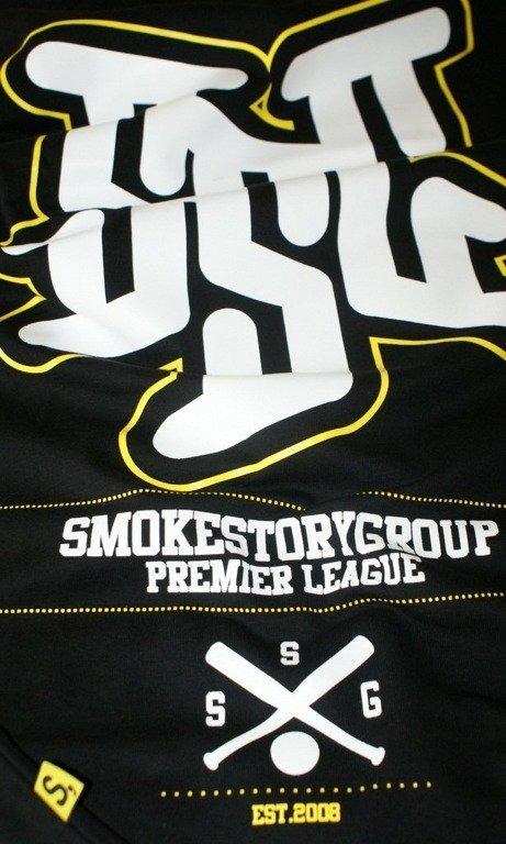 SSG SMOKE STORY KOSZULKA PREMIER LEAGUE BLACK