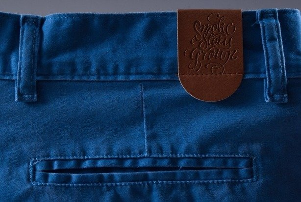 SSG SPODENKI KRÓTKIE CHINO CLASSIC BLUE
