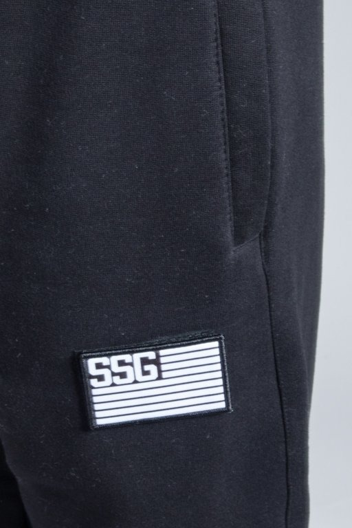 SSG SWEATPANTS FLAG JOGGER BLACK