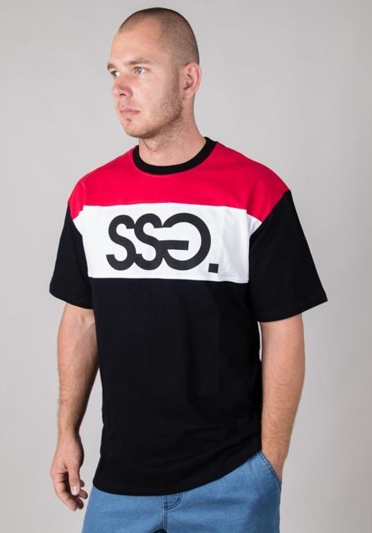 SSG T-SHIRT GRAY SSG BLACK-RED