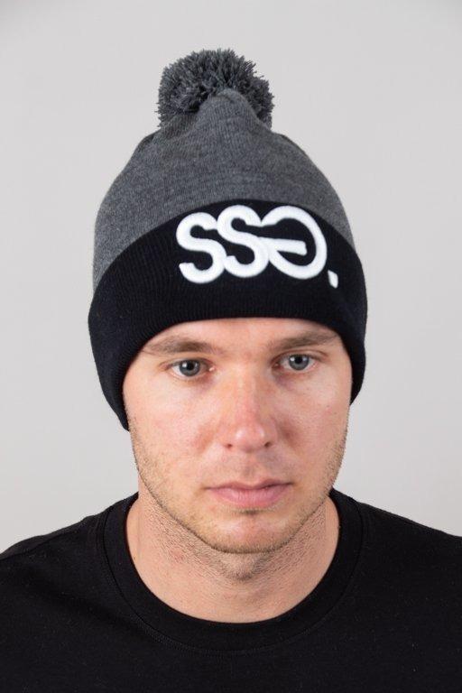 SSG WINTER CAP POMPON GREY