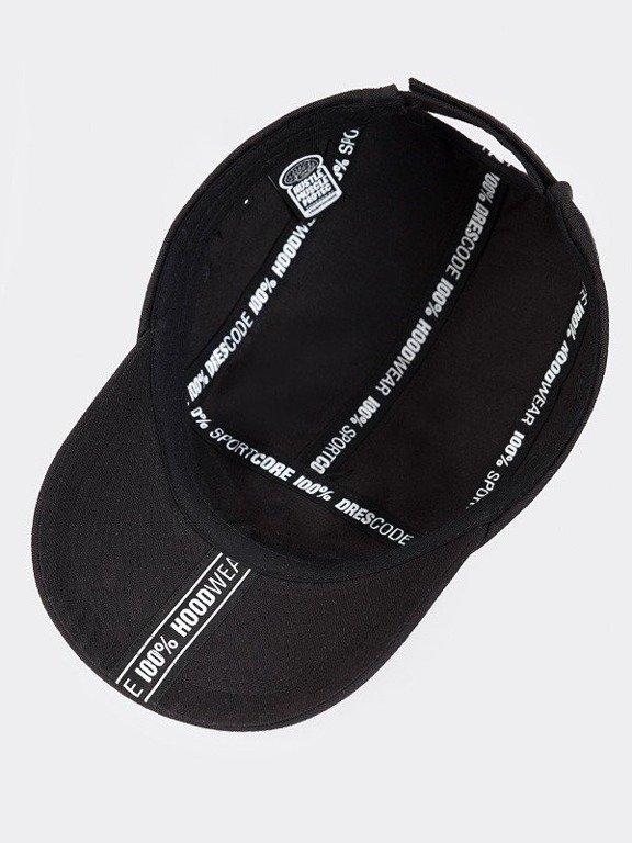 STOPROCENT CAP 5PANEL TAPE BLACK