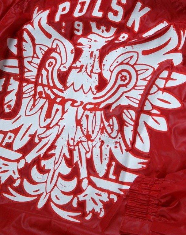 STOPROCENT KURTKA WIATRÓWKA EAGLE RED