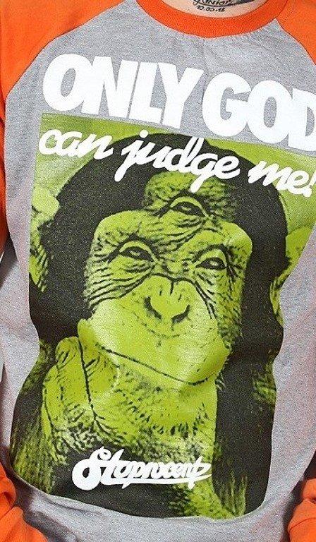 STOPROCENT LONGSLEEVE JUDGE MELANGE-ORANGE