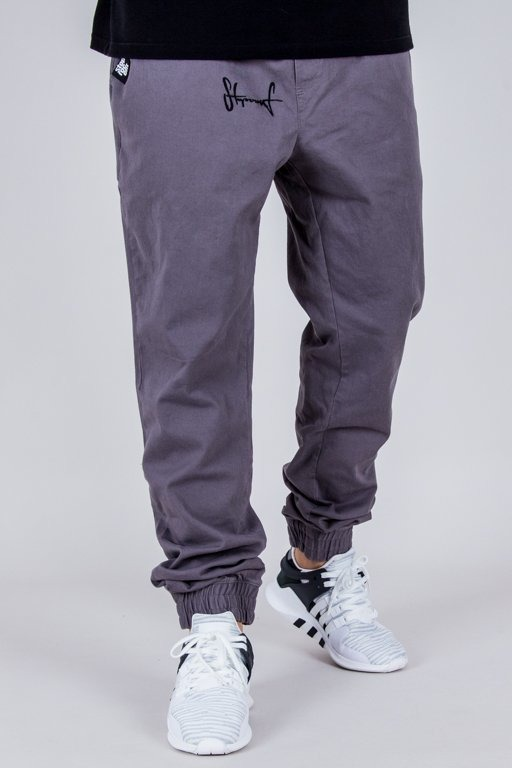 STOPROCENT PANTS CHINO JOGGER CLASSIC GREY